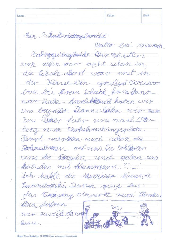 Bericht-Radfahren-KS3 (1)