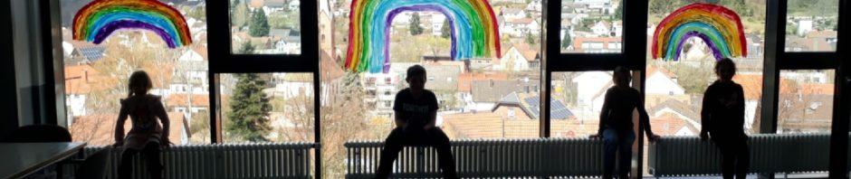 #Regenbogengegencorona